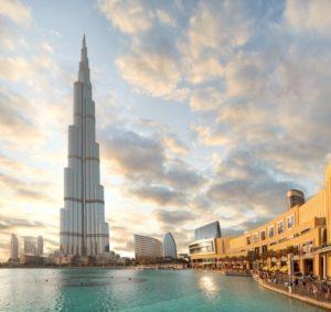 Wolkenkratzer Burj Khalifa