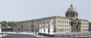 Ansicht von der Nord-West-Seite Ι View of the Berlin Palace from the northwest side