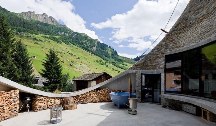 Bild: Villa Vals (www.urlaubsarchitektur.de)