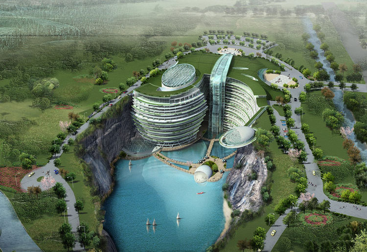 Songjiang Quarry Hote