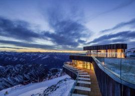 Spektakulär: Das neue Gipfelrestaurant auf dem Nebelhorn